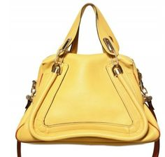 Yellow Chloé for summer