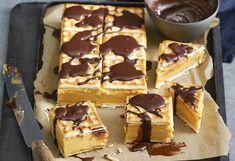 Caramel custard slice
