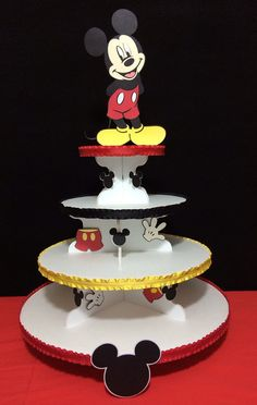 Mickey Mouse theme Cupcake Stand
