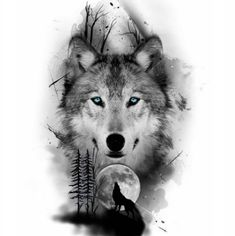sketches for men Wolf Pack Legend Wolf Tattoos Men, Love Tattoos, Tattoos For Guys, Circle Tattoos, Wolf Tattoo Girls, Tattoos Of Wolves, Fish Tattoos, Feather Tattoos, Tatoos
