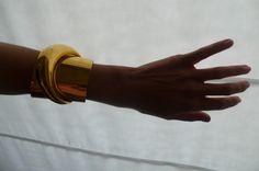 Lanvin gold cuff
