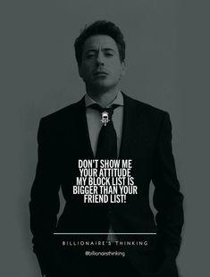 Billionaire thinking? Boss Quotes, Joker Quotes, Men Quotes, Wisdom Quotes, True Quotes, Motivational Quotes, Inspirational Quotes, Quotes On Attitude, Epic Quotes