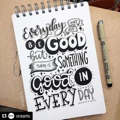 Typography Quotes for your Inspiration - Lettering letters Calligraphy Quotes Doodles, Brush Lettering Quotes, Doodle Quotes, Hand Lettering Quotes, Creative Lettering, Calligraphy Letters, Typography Quotes, Caligraphy, Calligraphy Video