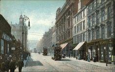 Sauchiehall Street Glasgow, MT Postcard