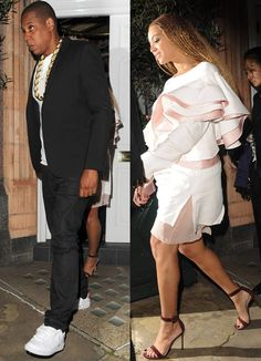 A-listers always manage to sneak in a romantic night on the town wherever they go...