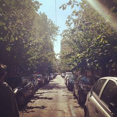 #sun #athens #greece #street