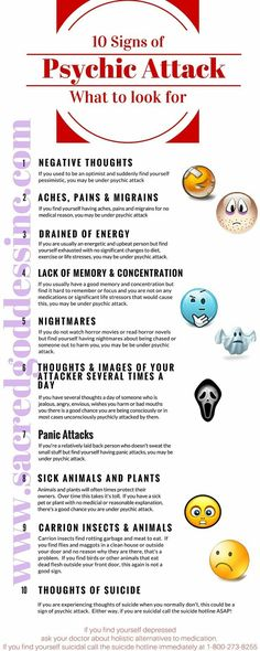 Signs of Psychic Attack What to Look For