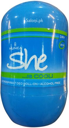 HUNCA SHE IS COOL ROLL-ON DEODORANT 40 ML Saloni™ Health