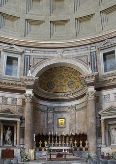 The Pantheon - Rome    © 2006 Mary Ann Sullivan