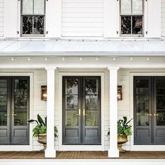 Best Exterior House With French Doors 02 - decorrea.com