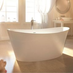Bain Ultra - EVANESCENCE OVAL 6636 Freestanding sales at Allied Kitchen & Bath. Free Standing Air Bathtubs in a decorative No Finish Defined finish