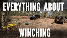 Winching techniques beginners to Advanced, this video is a crash course on winching covering pretty much everything you need to know including, general winch. Jeep Pickup, Jeep 4x4, Jeep Wrangler Tj, Jeep Wrangler Unlimited, Jeep Camping, Camping Hacks, Future Trucks, Bug Out Vehicle, Used Trucks