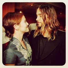 jaredleto Me + my friend Zoey Deutch at the #DallasBuyersClub screening last week