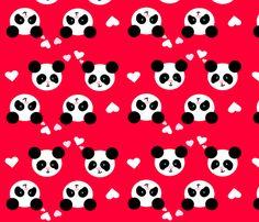 Panda Love Lilac Small custom fabric by johanna_lange_designs for sale on Spoonflower Sis Loves, Panda Love, Iphone 6 Wallpaper, Jewelry Branding, Custom Fabric, Paper Cutting, Spoonflower, Lilac, Hello Kitty