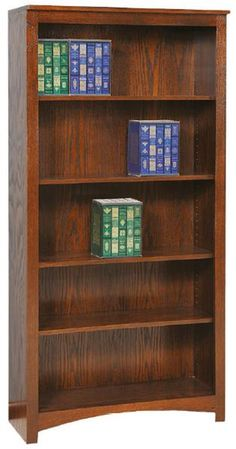 Custom Amish Treasure Economy Bookcase High X Wide 12 Deep Cabinet Features Plywood Sides And Shelves Flat Several Options Avai
