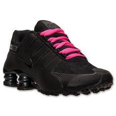 Nike Shox NZ Black Anthracite Pink Reflect # 635791 020 Women Running Shoes sz #Nike #RunningCrossTraining