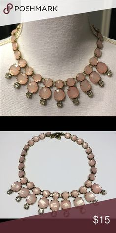 Pink statement necklace Try it! Jewelry Necklaces