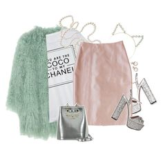 """""""Chanel #5"""" by samhoran95 on Polyvore featuring moda, Gucci, Temperley London, Chanel, Plakinger, Charlotte Olympia, fabulous, ScreamQueens, KKT e thechanels"""