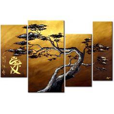 Quadro contemporaneo Albero bonsai