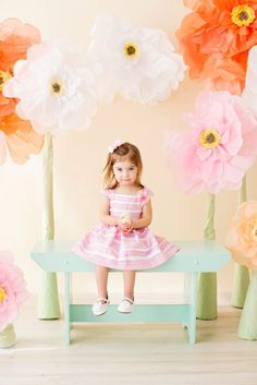 back drop ideas Easter photography | Boston Family Photography | Robotti + Rosa