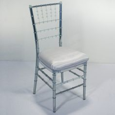 I'm looking to rent Chivari chairs, but won't be able to see them in person prior to renting them. I'm wondering if anyone used them in the color Ice?
