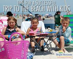 Are you spending time at the beach with kids this summer? Read these tips for successful beach trips with kids. Make beach time with the family a blast this summer. Visit Florida, Florida Vacation, Florida Beaches, Vacation Trips, Vacation Ideas, Florida Keys, Camping With Kids, Travel With Kids, Beach Camping