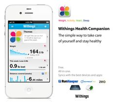 Looking for a multiple health tracking app? Withings Health Companion let's you assess the state of your health in a snapshot.