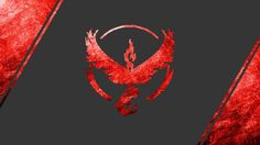 Pokemon GO Team Valor logo Wallpaper