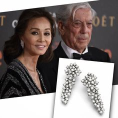 @isabelpreysler (with @mariovargasllosa) wearing a #WhiteGold #earrings with #WhiteDiamonds #cascade by @rabatjoyas in #Goyas2016 #dress by @naeemkhannyc  __________  #IsabelPreysler (con #MarioVargasLlosa) luciendo unos #pendientes de #OroBlanco con cascada de #WhiteDiamonds de #RabatJoyas en los #PremiosGoya #vestido de #NaeemKhanNyc __________  #DeJoyaEnJoya #FromJewelToJewel #luxury #InstaDiamonds #InstaGold #fashion #glamour #RedCarpet #PremioNobel #PrizeNobel #JewelryObsession…