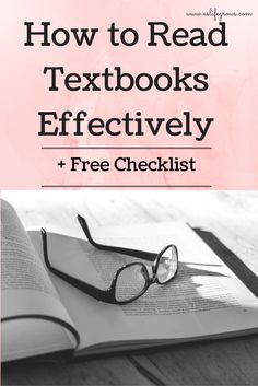 How to read textbooks effectively College Hacks, College Life, College Success, School Hacks, College Survival, Graduate School, Law School, Study Skills, Good Grades