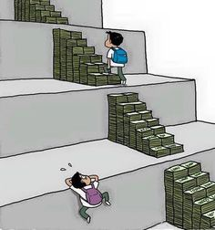 How money is helping you climbing the steps of education