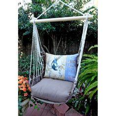 Magnolia Casual Retro Chevron Hammock Chair Pillow Set Check Out