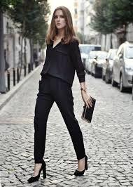 Резултат слика за all black outfits
