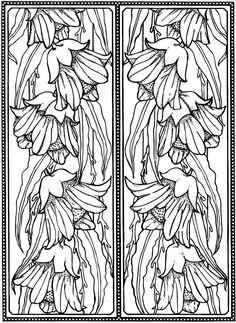 Creative Haven Art Deco Designs Coloring Book: Dover Publications Samples