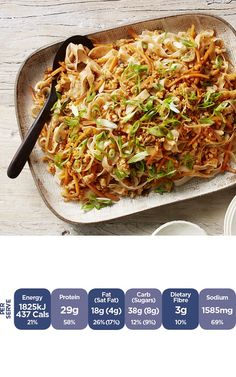 Chicken Pad Thai by Curtis Stone