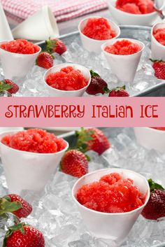 Homeade Italian Ice just like the state fair!