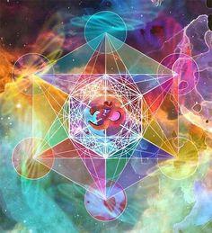 ૐ OM ૐ Cubo de Metatron  www.merkabahspirit.com