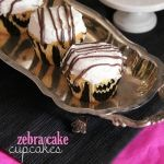 Zebra Cake Cupcakes - cookiesandcups.com - (includes links to other cupcake recipes at bottom of post, also)