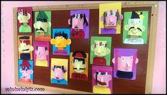 Okul Öncesi Dönemde Algoritmik Düşünme Preschool Christmas, Christmas Crafts, Bee Crafts, Crafts For Kids, Origami Butterfly Easy, Mandala, The Incredibles, Frame, Projects