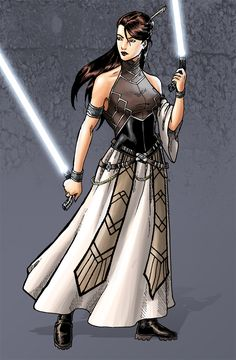 jedi dress. I love this for a cosplay!