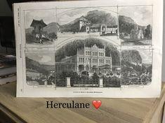 Ani de Herculane ❤️ Orig -Holzstich 1869 Polaroid Film