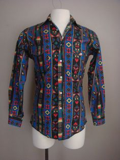 748a6c4630c188 Items similar to Vintage Mens Shirt Mod Mid Century 1960s/1970s Brown  Floral Bohemian Size M on Etsy