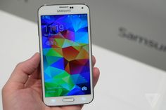 Samsung's Galaxy S5 is here with more power, more pixels, and a refined design | The Verge http://www.theverge.com/2014/2/24/5441668/samsung-galaxy-s5-announcement-launch