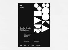 Booka Shade        A poster for the EVE Fanfest 2011 headline act Booka Shade. Printed in four colors.