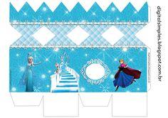 "Festa de Aniversário ""Frozen"", rótulo caçulinha, latinha, convite, caixinhas...tudo gratuito para imprimir . Disney Princess Frozen, Anna Frozen, Olaf Frozen, Frozen Birthday Party, Candy Bar Frozen, Eid Boxes, Box Template Printable, Frozen Party Decorations, Wood Craft Patterns"