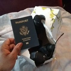 I found my #passport! 6am! Yes! Apparently I put it inside of a tissue box underneath my wireless microphone equipment... I went to Cuba right before I moved to Philadelphia and stored it somewhere toooooo safe... I think I figured that I would use my wireless by now... Idk.