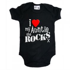 The Best I Love My Aunt Baby Clothes 2013