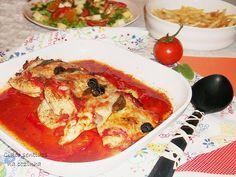 Bifes de frango à parmegiana