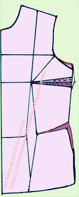 El Rincon De Celestecielo: Traslados de la pinza lateral o de costado de busto