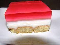 Δροσερό γλυκό ψυγείου με Κρέμα και Ζελέ - Trikalaola.gr Νέα , Ειδήσεις & Εκδηλώσεις από τα Τρίκαλα Sweet Corner, Easy Desserts, Vanilla Cake, Yogurt, Recipies, Food And Drink, Favorite Recipes, Sweets, Eat